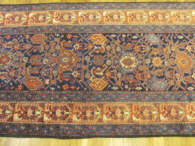 24784 antique persian kurd hall runner 3,2 x 13,3-2