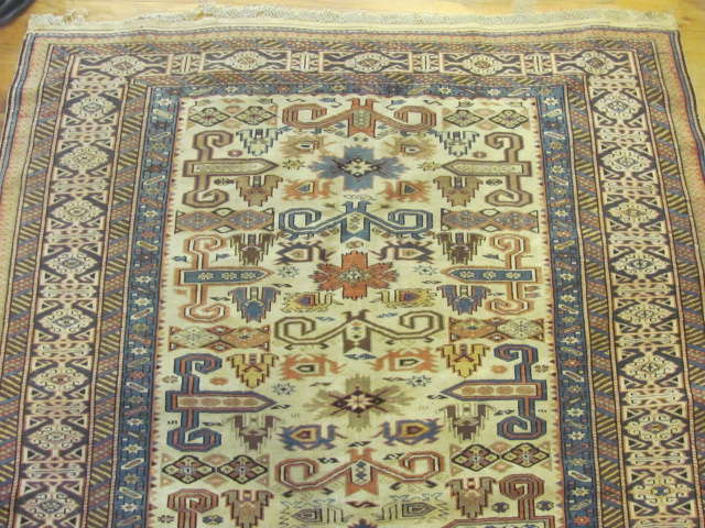 24809 antique caucasian kuba rug 4,5x5,11-1