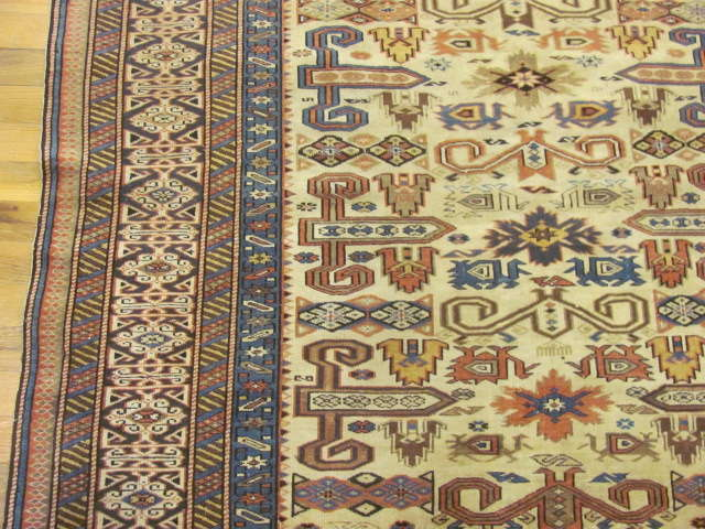 24809 antique caucasian kuba rug 4,5x5,11-2