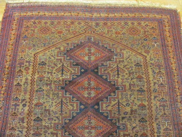 24810 persian afshar rug 4,7x6-1