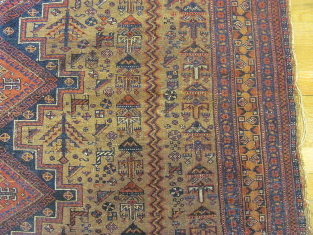 24810 persian afshar rug 4,7x6-2