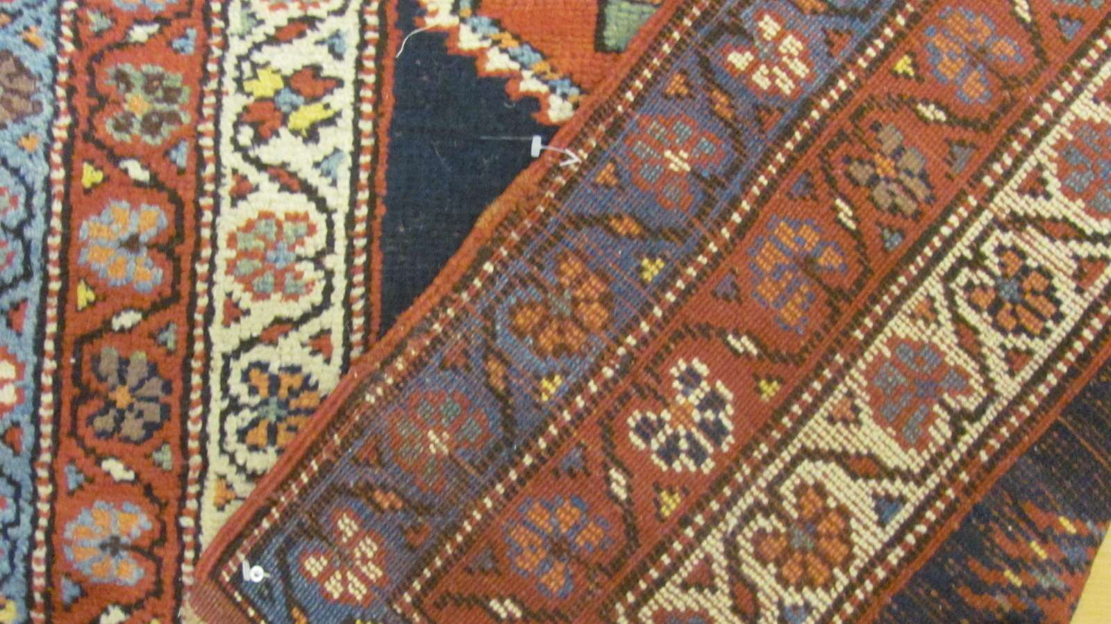 24824 antique persian nw kurd runner 3,2x13,7-2