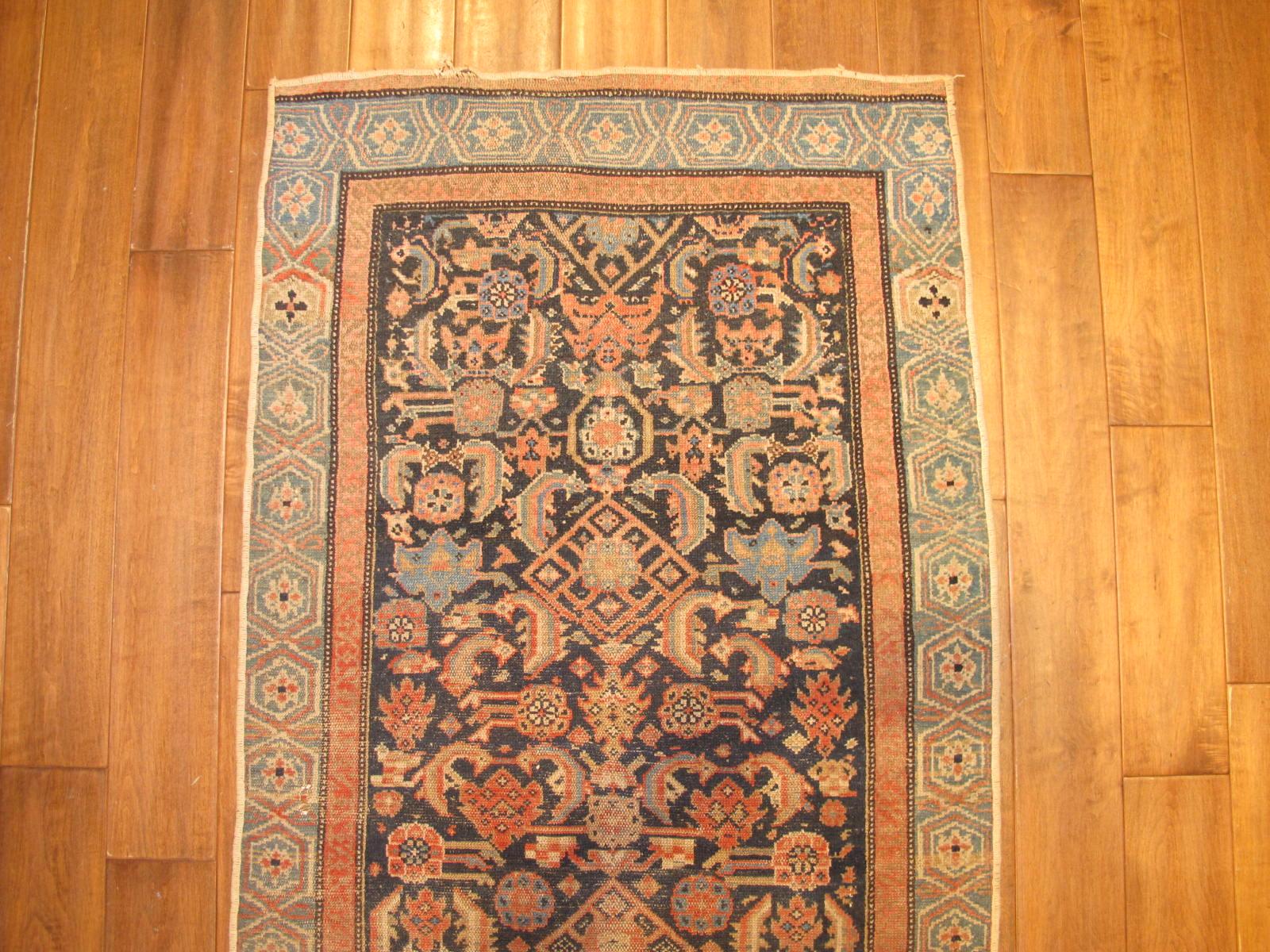 13099 antique persian malayer runner 2,9 x 10,4 (2)