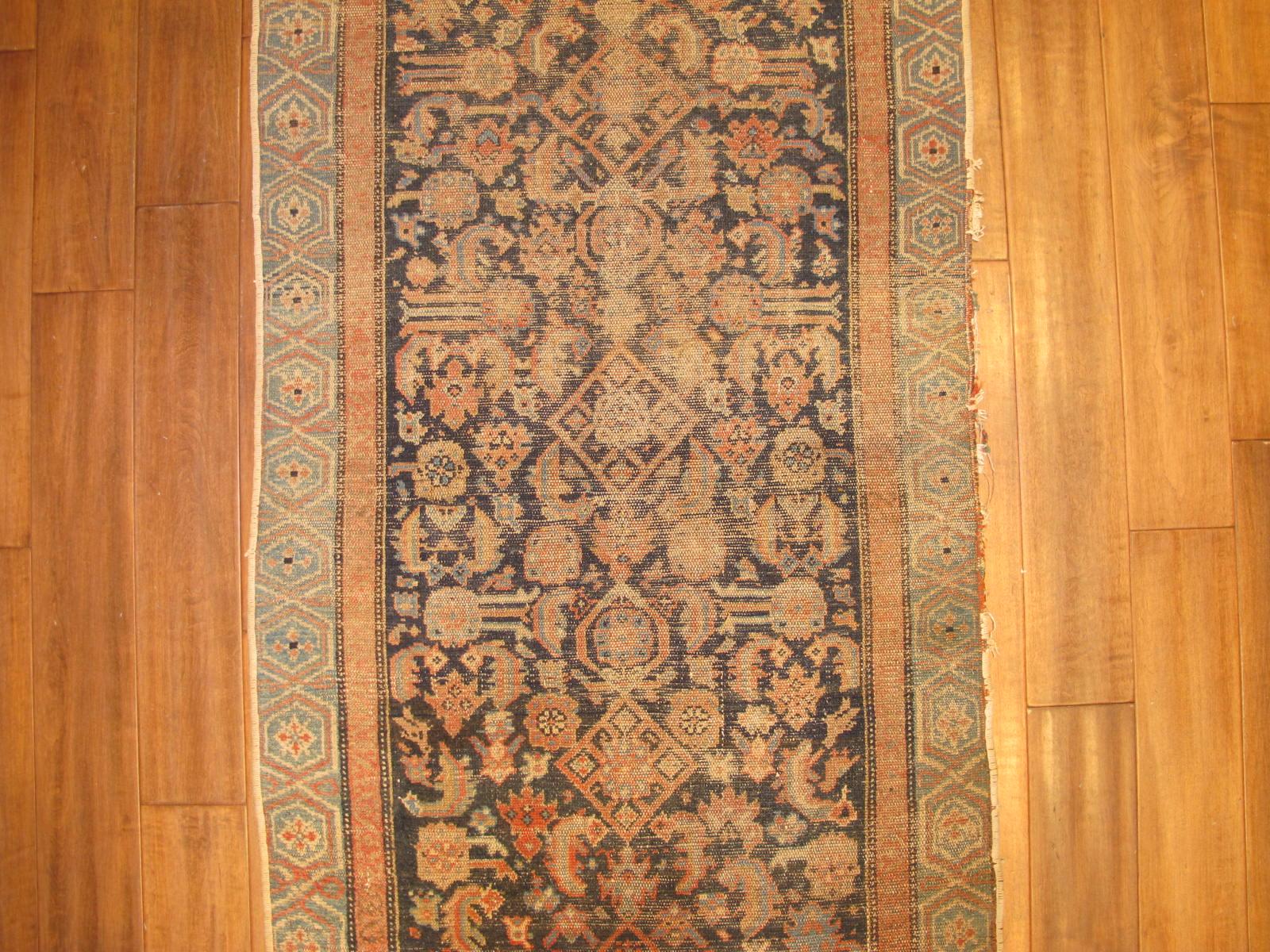 13099 antique persian malayer runner 2,9 x 10,4 (3)