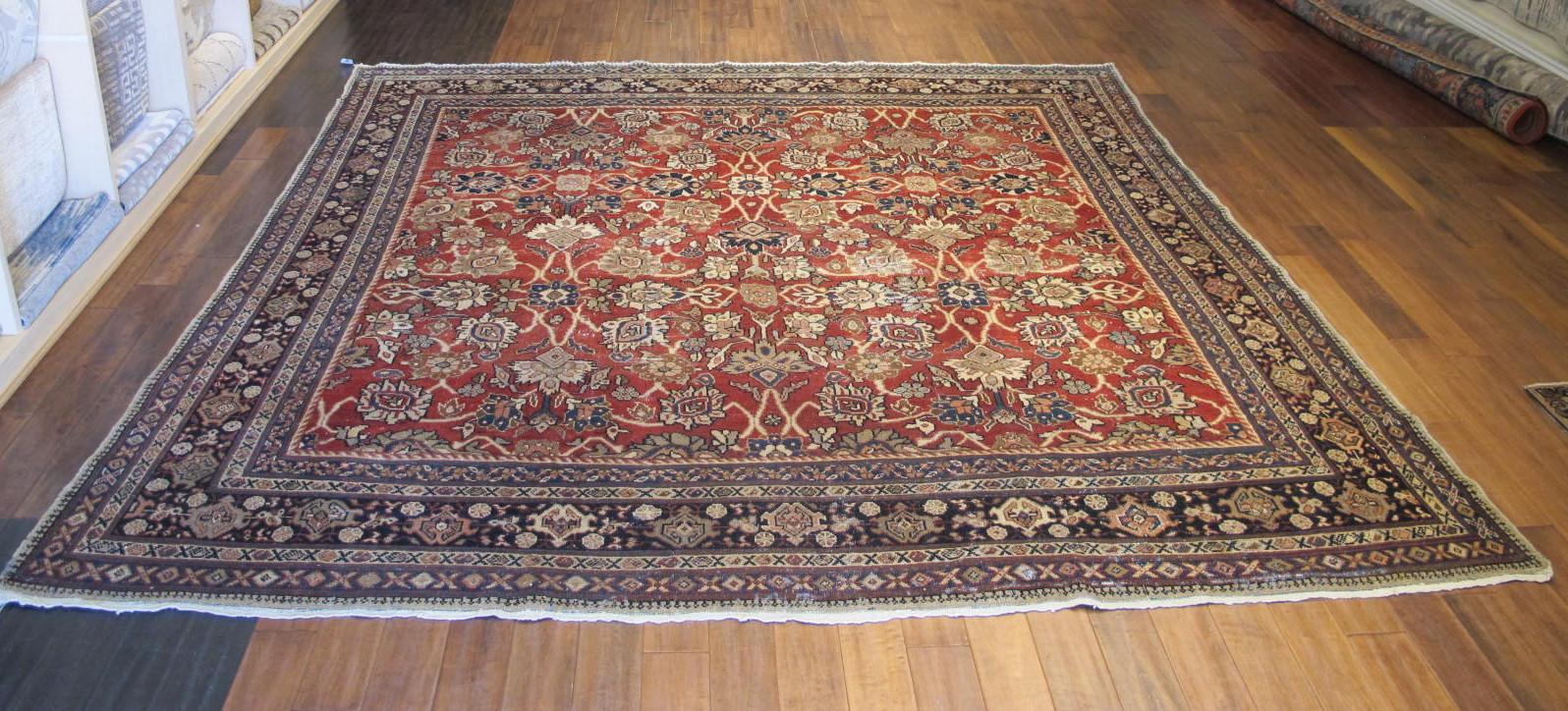 23097 persian mahal rug 10,6 x 10,6 (1)