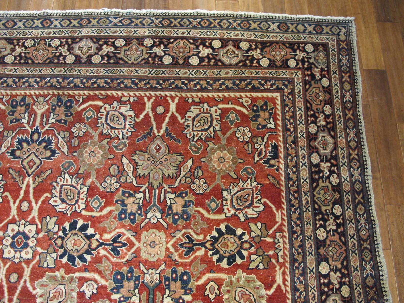 23097 persian mahal rug 10,6 x 10,6 (3)