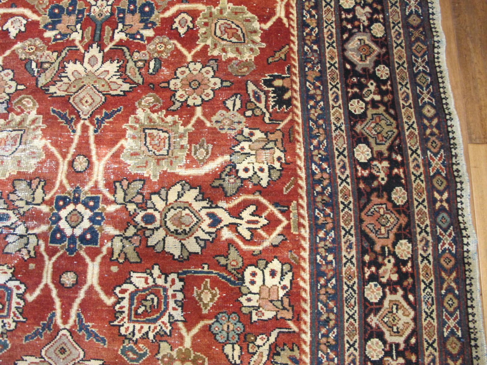 23097 persian mahal rug 10,6 x 10,6 (4)