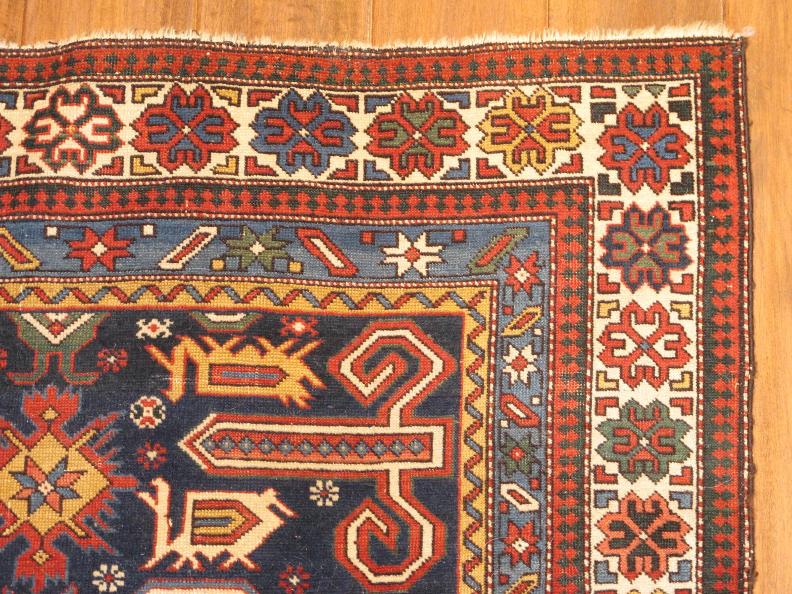 23183 antique Caucasian kuba 3,9x5,1 (2)