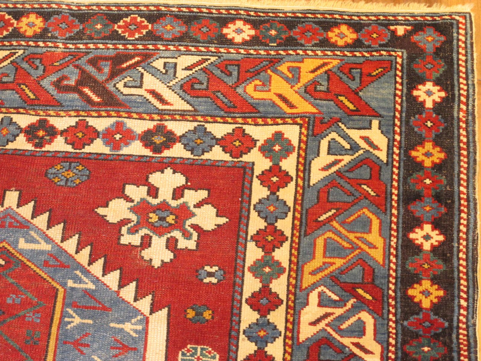 23188 antique caucasian shirvan rug 3,2 x 6,2 (2)