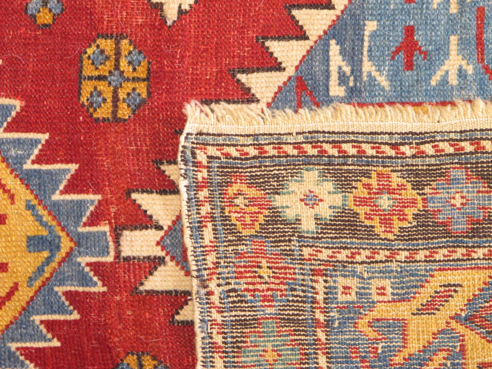 23188 antique caucasian shirvan rug 3,2 x 6,2 (3)