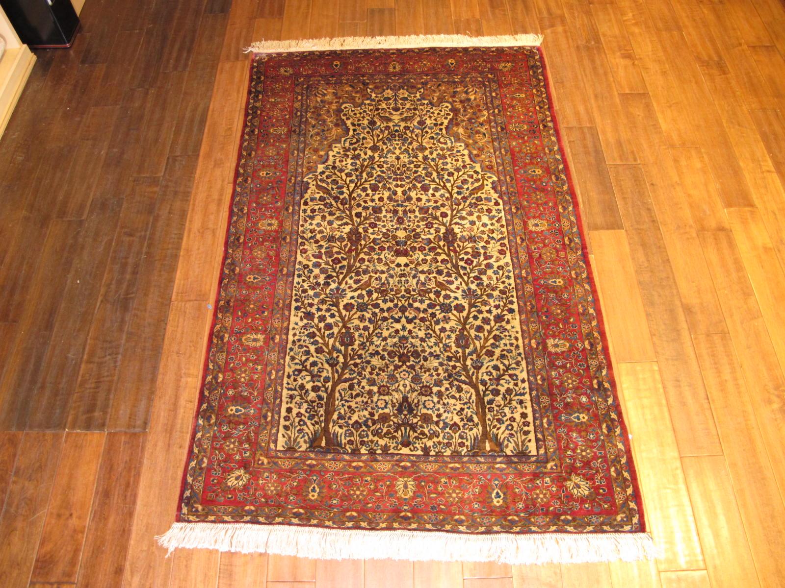 Kashan Silk Rug | Persia | Circa 1930