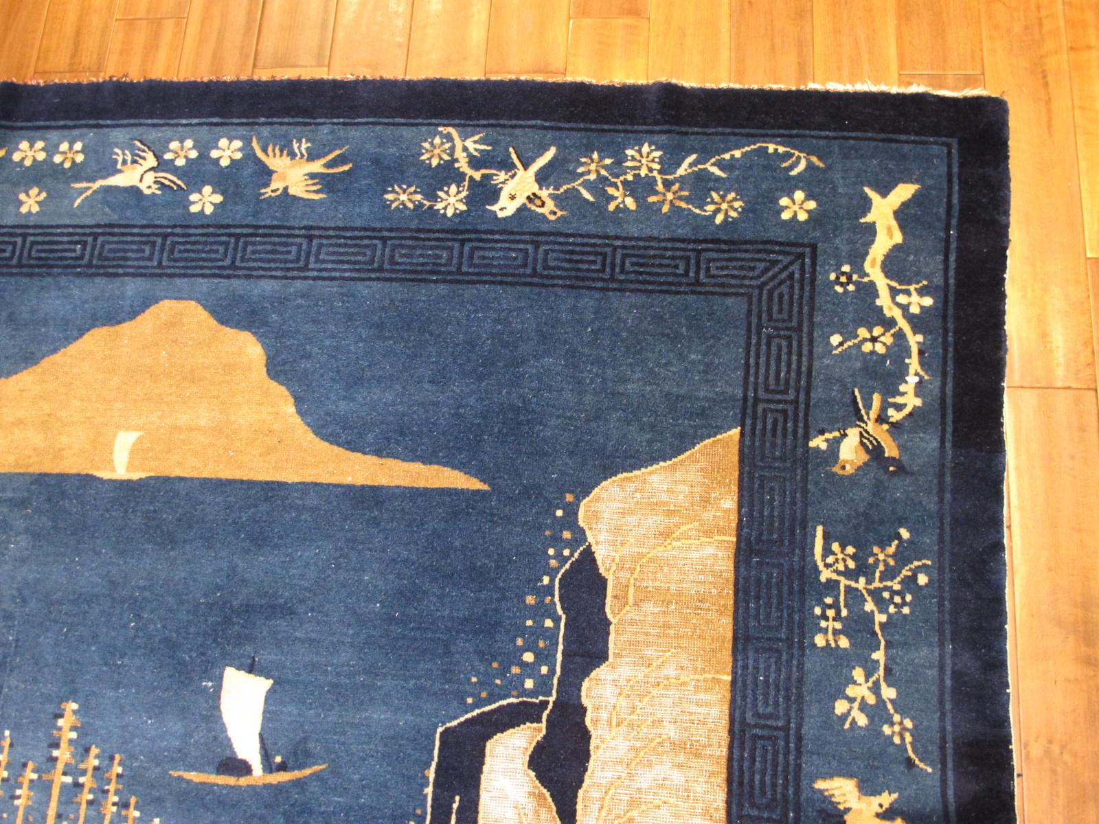 23192 antique chinese peking rug 9 x 11,8 (2)