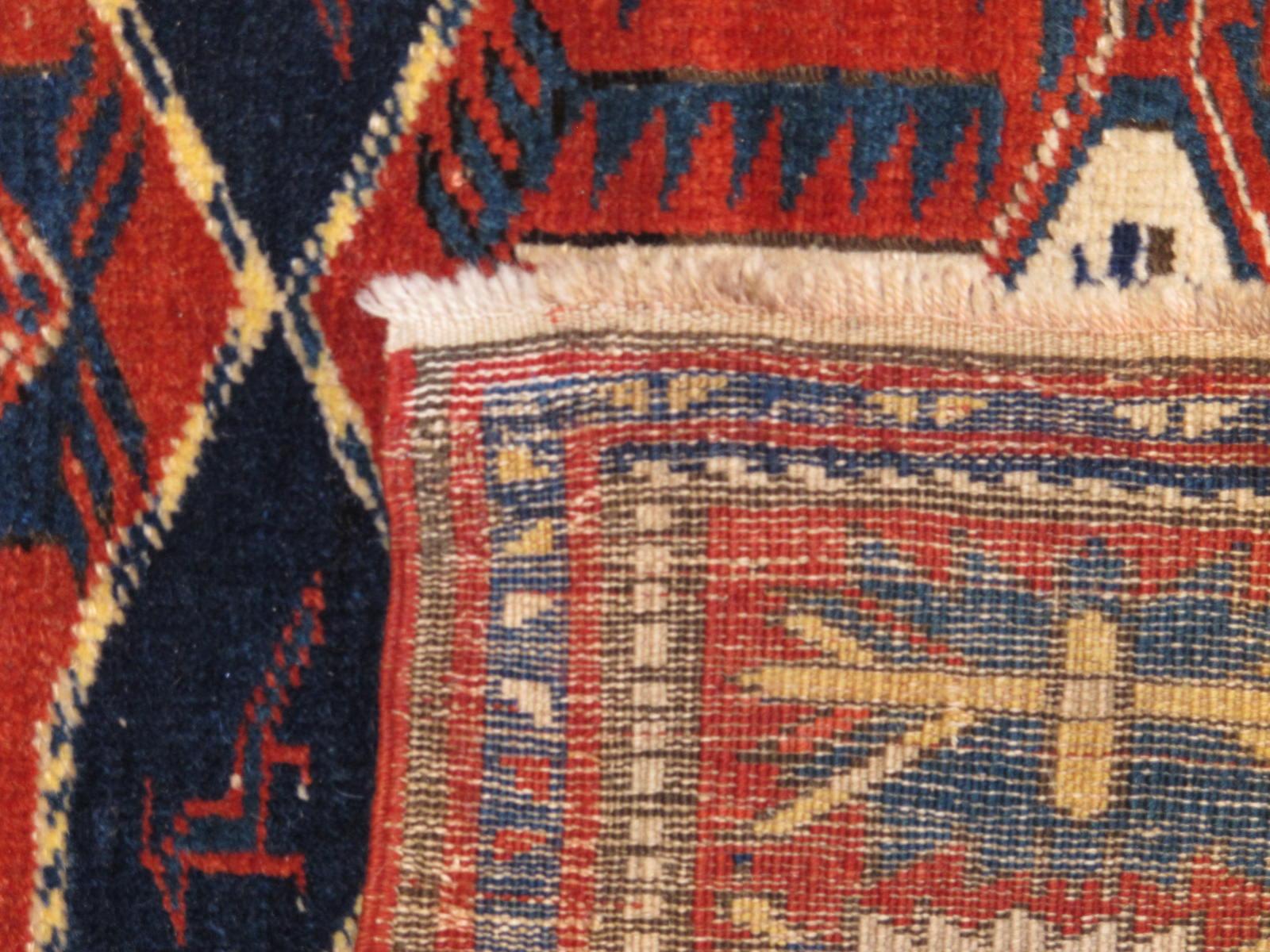 23193 antique caucasian shirvan rug 4,1 x 6,10 (3)