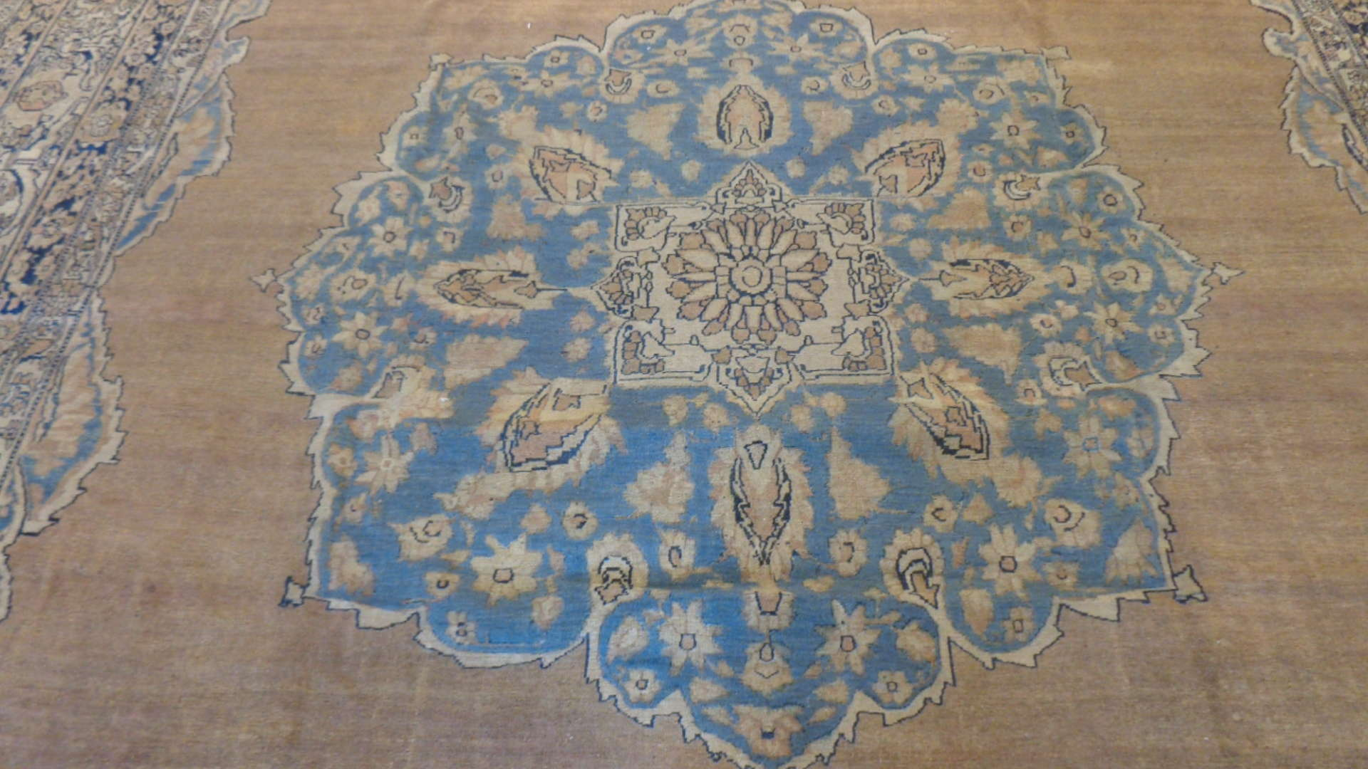 24847 antique persian kirman lavar rug 11,4 x 14,8-2