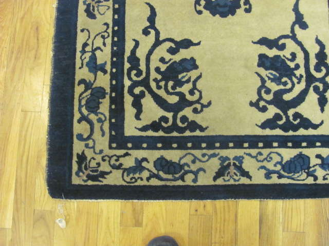 24911 antique chinese peking rug 3,1 x 5-1