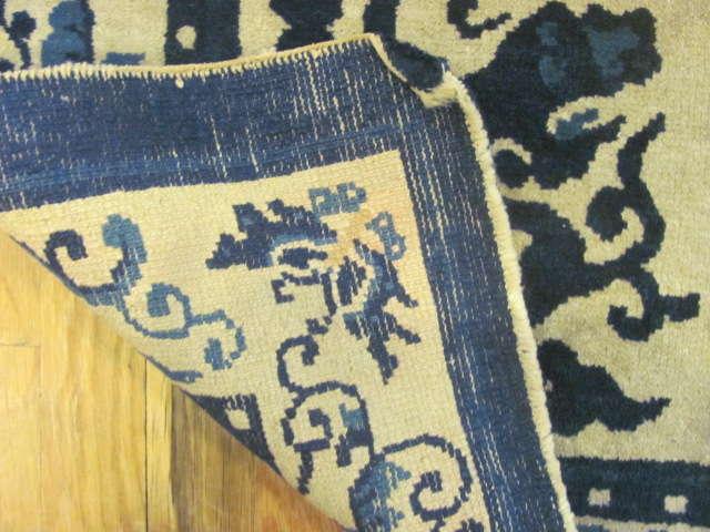 24911 antique chinese peking rug 3,1 x 5-2