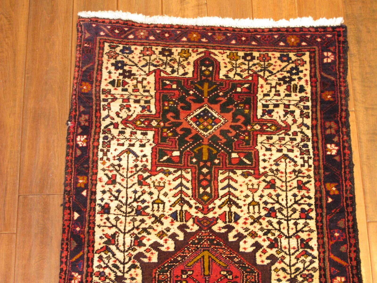 23663 Persian Heriz runner 2,6x9,10 (1)