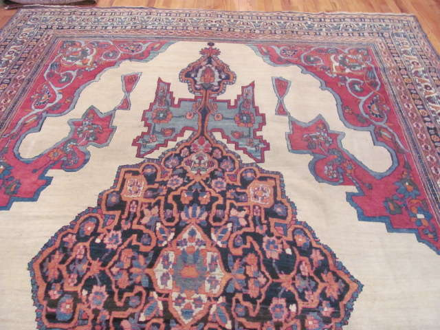 24938 Antique Persian Kirman Lavar carpet 8,8 x 13,2 -2