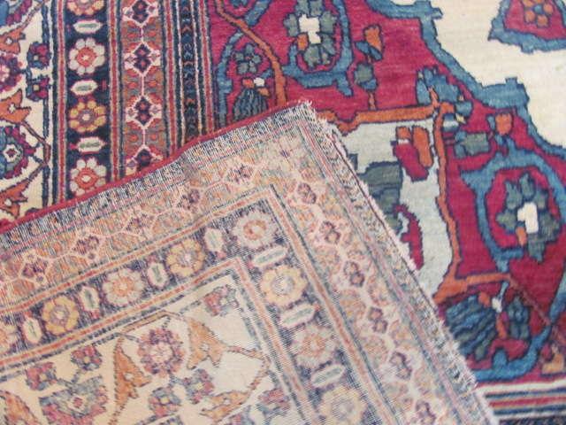 24938 Antique Persian Kirman Lavar carpet 8,8 x 13,2 -3