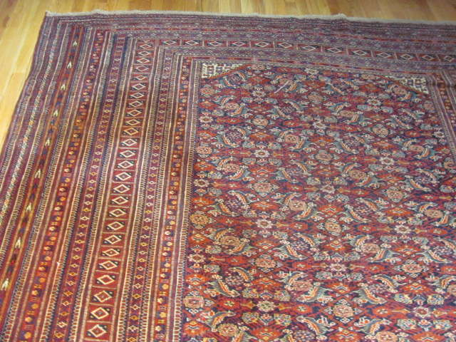 24945 Antique Tekke gallery carpet 8,2 x 20 -1