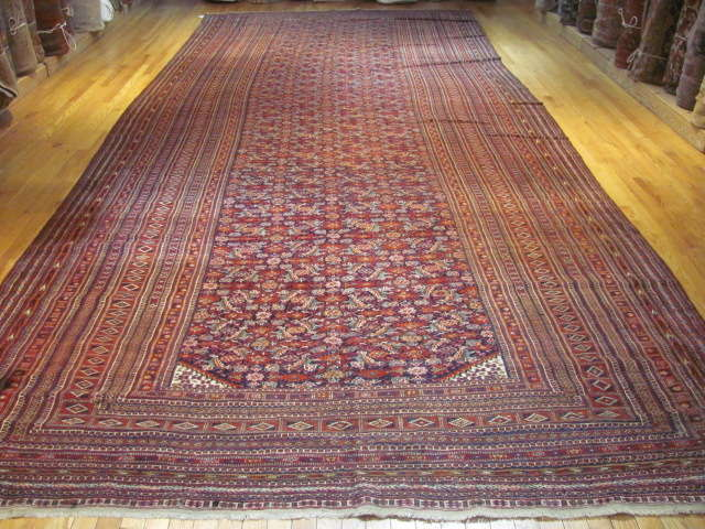 24945 Antique Tekke gallery carpet 8,2 x 20