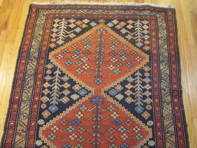 24951 Persian Hamadan hall runner 3,6 x 9,6 -1
