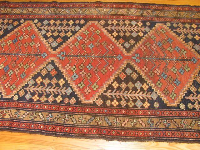 24951 Persian Hamadan hall runner 3,6 x 9,6 -2
