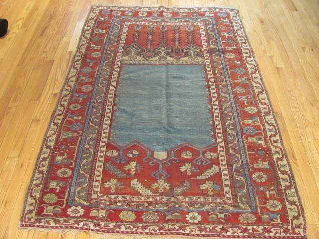 24967 Antique Anatolian Ladik rug   3,9 x 5,10