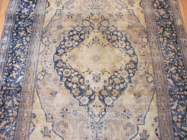 24985 Antique Persian Kashan Mohteshem rug  4,4 x 6,7 -2