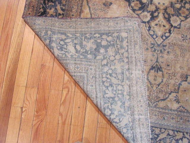 24985 Antique Persian Kashan Mohteshem rug  4,4 x 6,7 -3