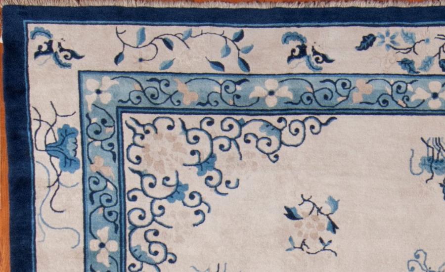24990 Antique Chinese Peking carpet 9,1 x 11,7-2