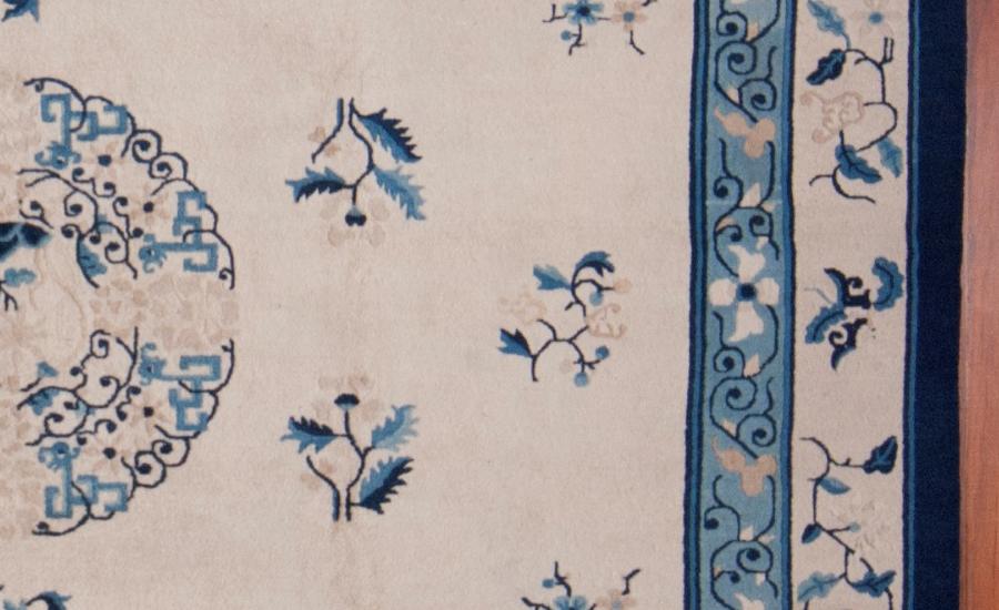 24990 Antique Chinese Peking carpet 9,1 x 11,7-3