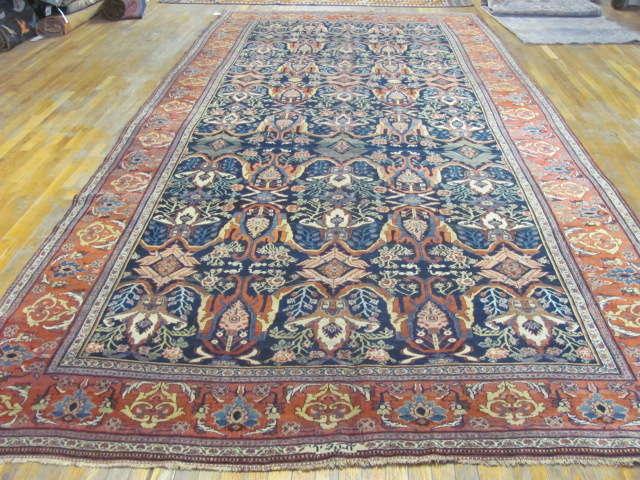 24999 Antique Persian Bidjar gallery 7,11 x 17,2 (1)
