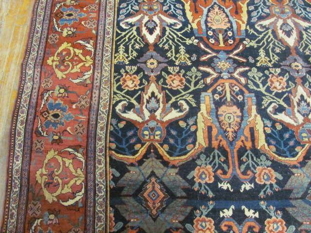 24999 Antique Persian Bidjar gallery 7,11 x 17,2 (3)