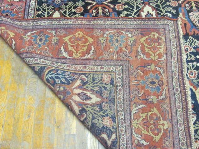 24999 Antique Persian Bidjar gallery 7,11 x 17,2 (4)