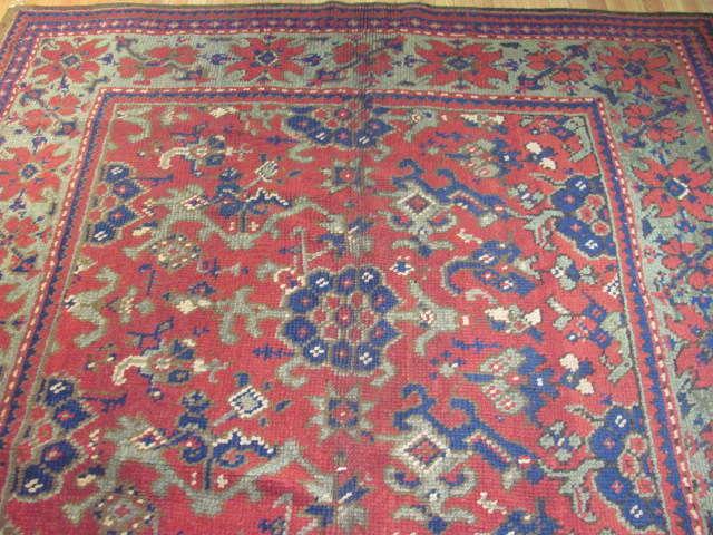 25016 Anatolian Oushak carpet 7,1 x 9-1