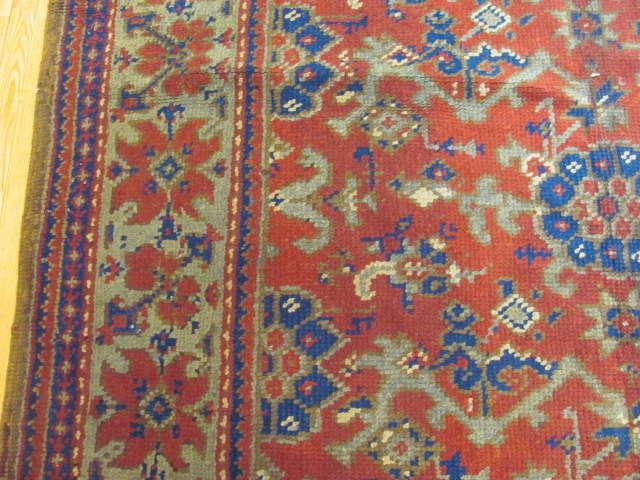 25016 Anatolian Oushak carpet 7,1 x 9-2