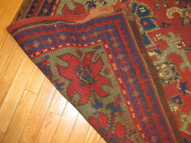 25016 Anatolian Oushak carpet 7,1 x 9-3
