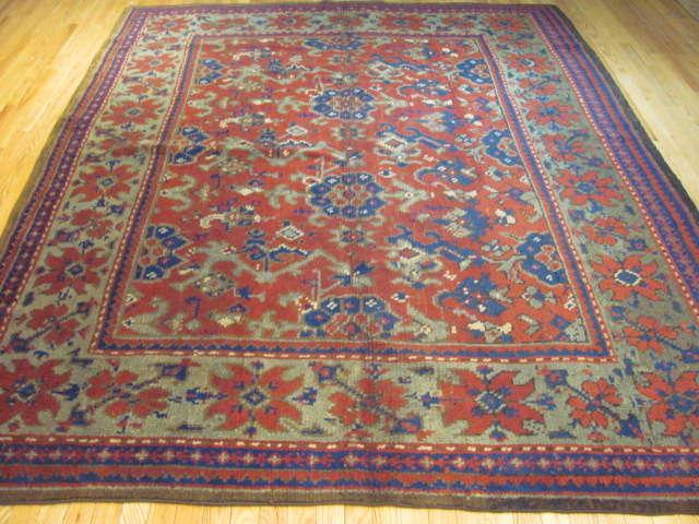 25016 Anatolian Oushak carpet 7,1 x 9