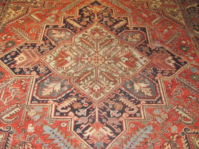 25035 Persian Heriz carpet  8,10 x 12,3-2
