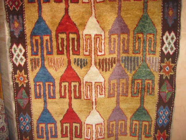25043 Antique Anatolian Konya  3,4 x 11,2-2