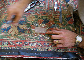 Persian Rug Repair in San Marino