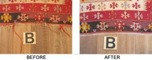 oriental rug edge binding