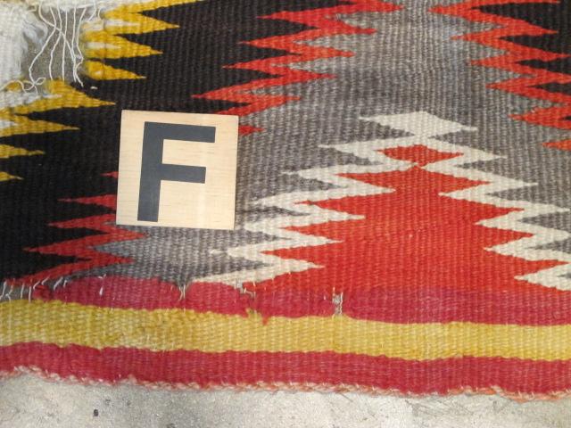 Navajo Rug | Repair & Restoration Of Hole