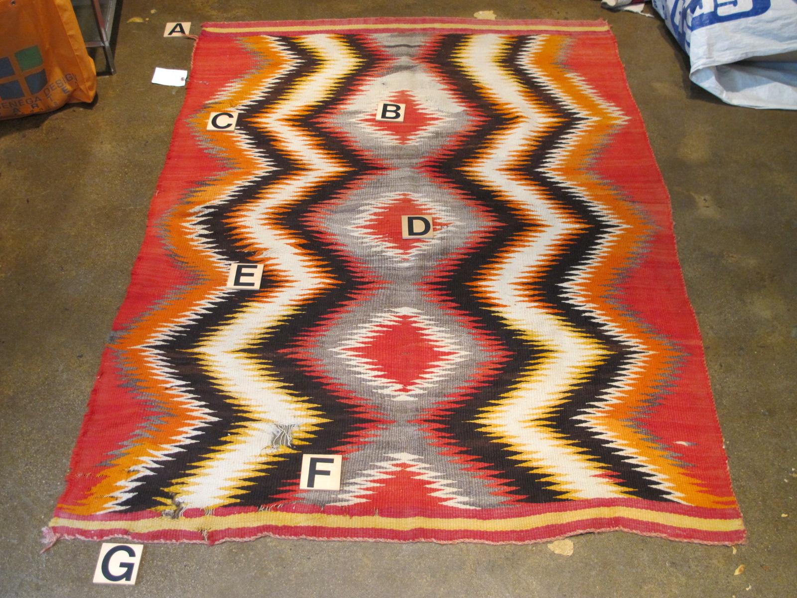 Navajo Rug | Repair & Restoration