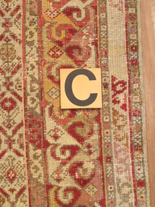 Anatolian Rug 6' 4 x 6' 5 - after repair (3)