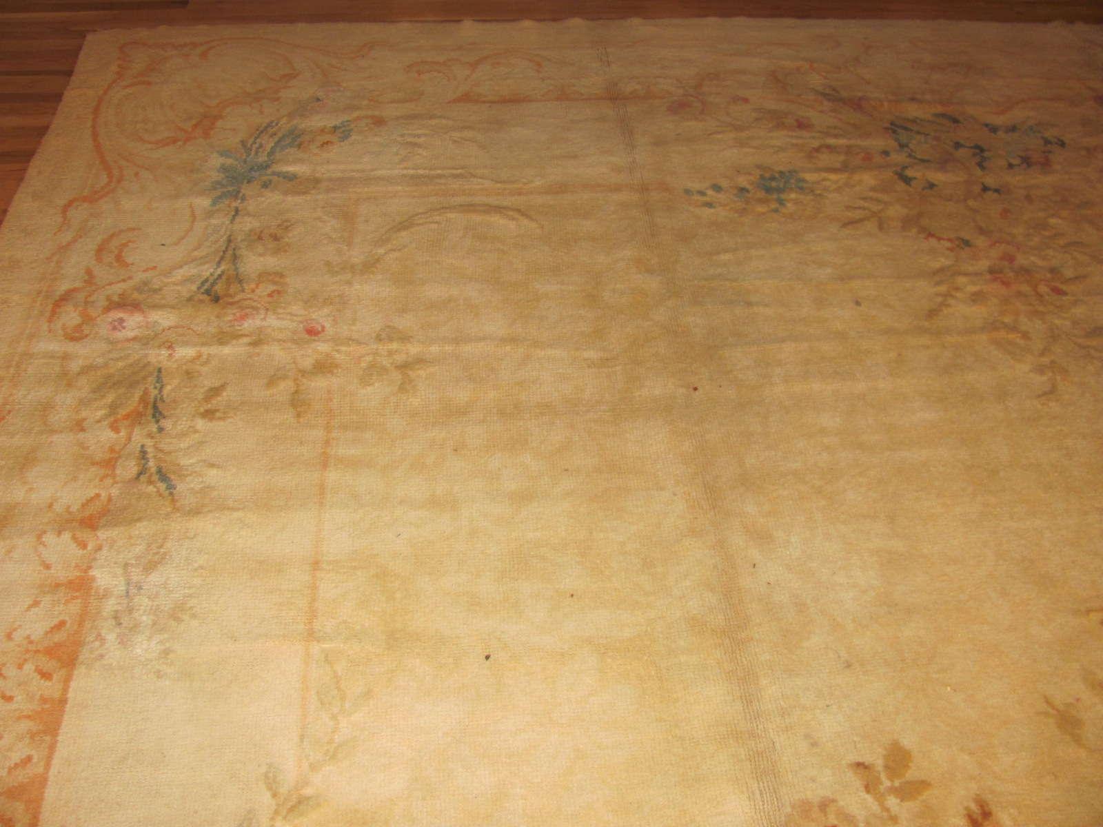24253 French Savonnerie carpet 14,6 x 27,6 (1)