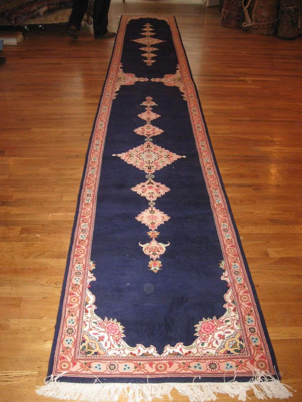 Tabriz Hall Runner | Persia | Handmade, Circa 1980
