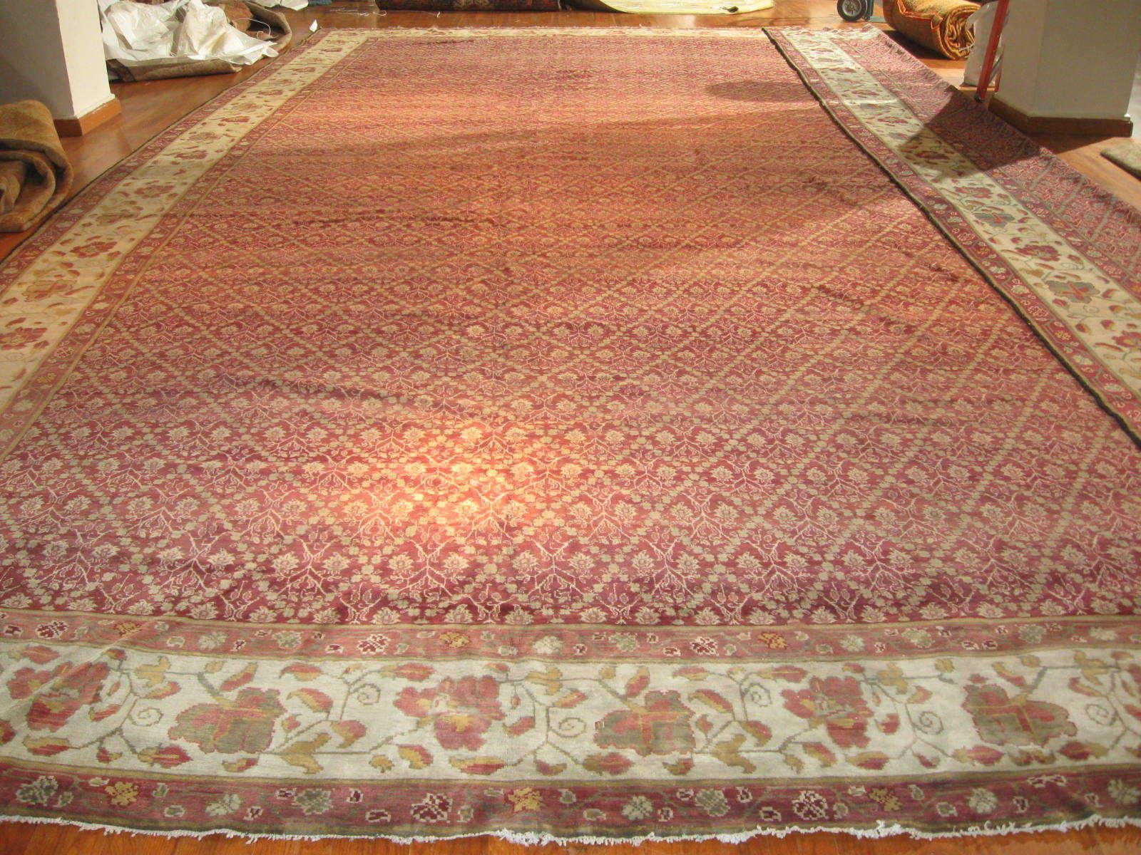Antique India Agra Carpet | Circa 1900