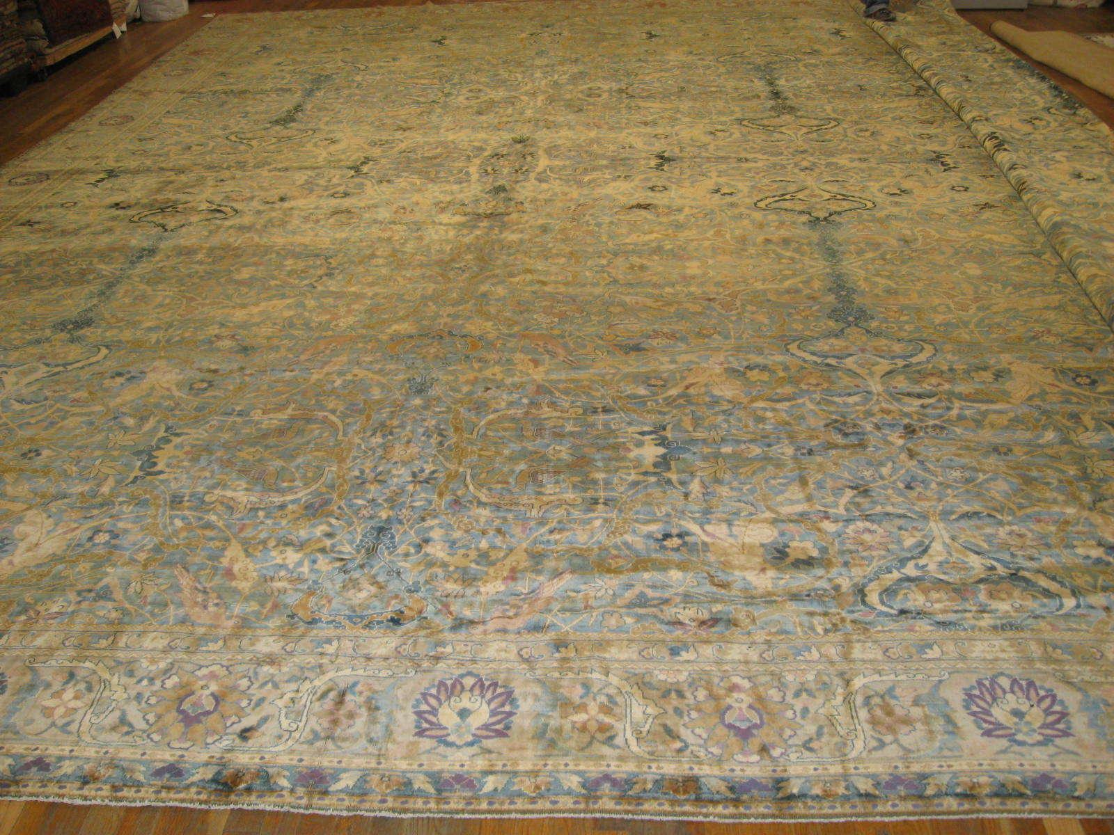 Antique Indo Tabriz Rug | Handmade | Circa 1900